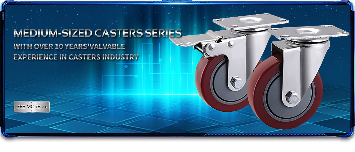 Medium-sized casters series